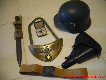Koupím staré vojenské věci