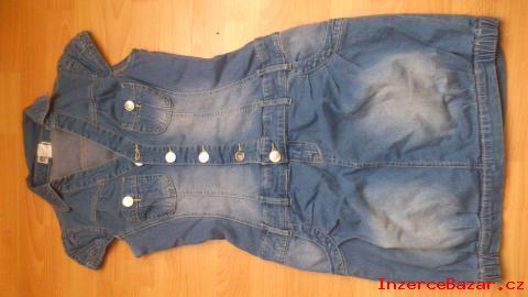 Inzerce oblečení > Riflové šaty