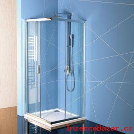 Sprchový kout čtvercový s vaničkou