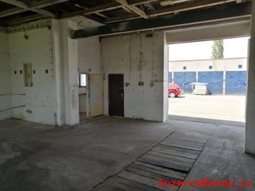 pronájem garáž, sklad, výrobní hala