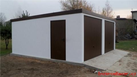 Montované garáže (s omítkou)