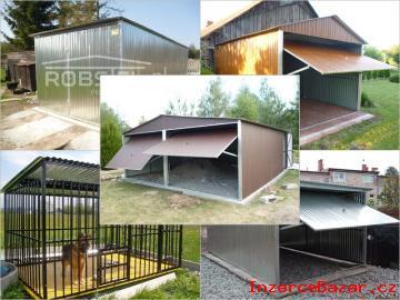 Najlacnejšie plechové garáže, voliery pre pso