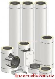 Nerezovy komín 150mm/5m Premium Komplet