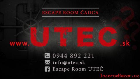 Escape room | Uteč za 60 minút reálna hr