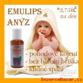 POHODOVÉ kojení - BEZ kolik a NADÝMÁNÍ