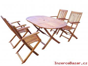 Zahradní nábytek set 1+4