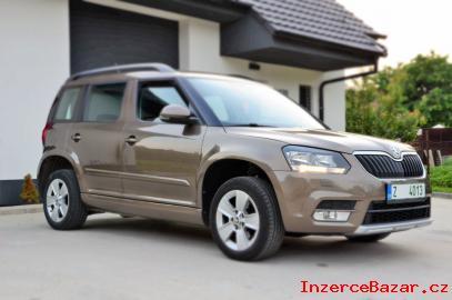 Škoda YETI 1,6  77kW.  RV 2014