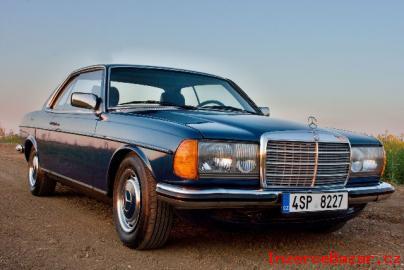 Mercedes-Benz 123 C, 230 kupé, 100kW