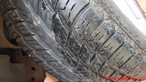 """5 zachovalých pneumatik na 22"""" palcová k"""