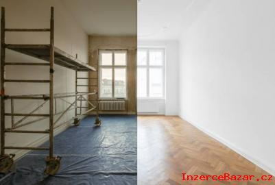 Stavební, malířské, vyklízecí práce
