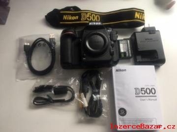 Nikon D500 DSLR / D750 / D810 + iphone 8