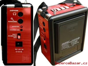 = Moderní radio s MP3 a svítilnou =