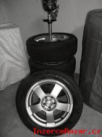 Alu kola + zimní pneu