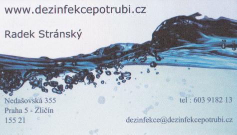 Dezinfekce potrubí - Radek Stránský
