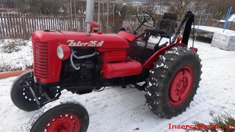 """Traktor Zetor 25 A  + lištová sekačka """"č"""