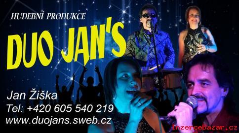 Hudba -pro všechny akce-Duo Jans