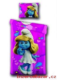 Povlečení 3D Smurfette Hearts Collection