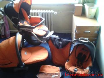 Kočárek trojkombinace Cam Cortina Evo X3
