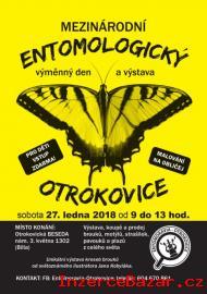 Entomologická burza, 27. 1. 2018, OTROKOVI