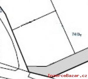 Stavební pozemek 940 m2 za 950,- Kč