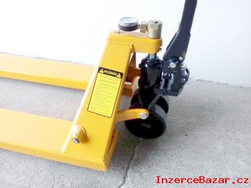 Nový paletový vozík M20