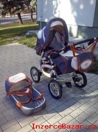 Prodám kočárek Baby haven, 3kombinace.