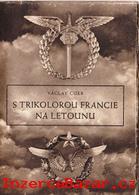 S trikolorou Francie na letounu