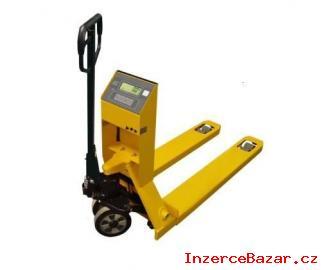 Paletový vozík s integrovanou váhou