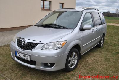 Mazda MPV 2,3 7míst benzin tažné