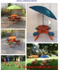 Dětský zahradní nábytek