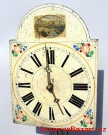 Staré malované hodiny