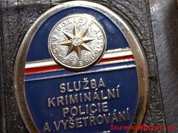 odznak SKPV-KRIMINALNI POLICIE Platny do