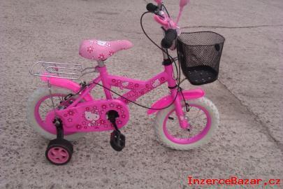 Kolo dětské 12 Hello Kitty rúžové nové