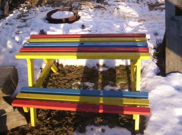 Dětský zahradní set