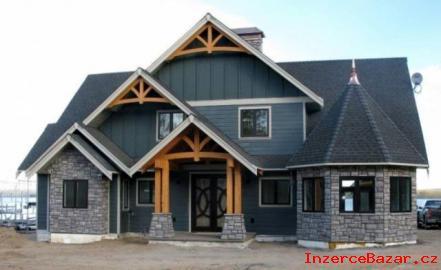 Postavte si originální Kanadskou Dřevostavbu
