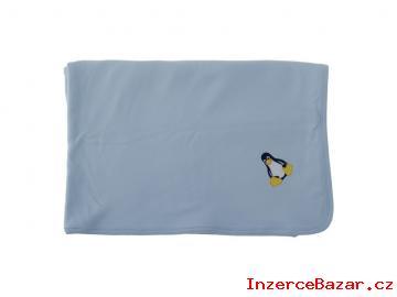 Dětská deka letní 90x90 cm modrá