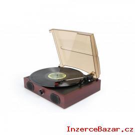Aktivní retro gramofon s USB