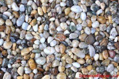 Říční a mramorový koberec