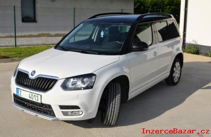 Škoda YETI GSD 1,6 .   77kW.  RV 2014
