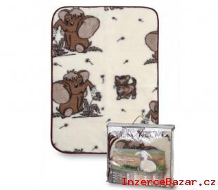 Dětská vlněná deka