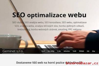 Výhodná SEO optimalizace stránek