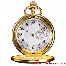 Zlacené kapesní hodinky v dárkovém balen
