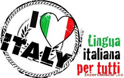 Italský jazyk pro začátečníky i mírně po