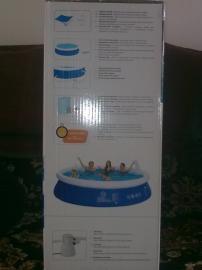 Bazén velký 300x76cm s filtrací