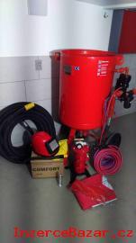 Pískovačka - tryskací zařízení, tryskač