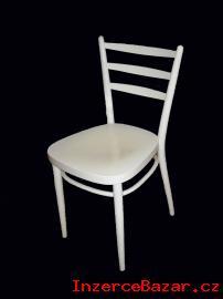prodám tři bílé židle