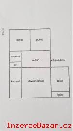 Slunný byt 4+1 s lodžií, 76m2