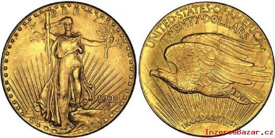 Zlatý Dvaceti dolar