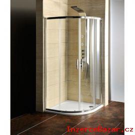 Kout sprchový s vaničkou litý mramor