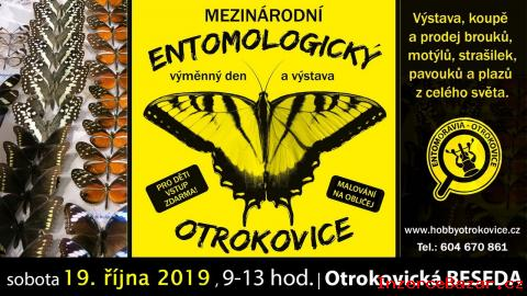 Entomologická burza, OTROKOVICE,19. 10. 20